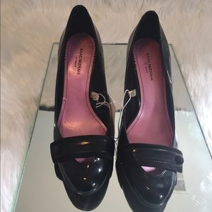 Women's Black Platform heels size 10 NWT